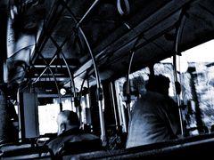 bus fahren....