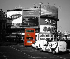 Bus im Grauen Alltag