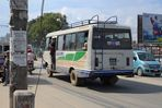 Bus in Kathmandu