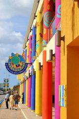 Busbahnhof in Oranjestad Aruba ,Karibik Aida Kreuzfahrt