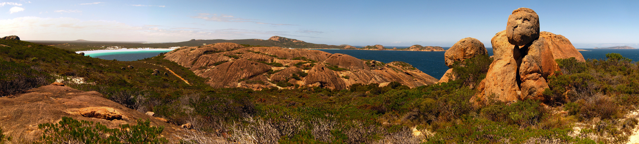 Bush Walk - Lucky Bay to Thistle Cove - Panorama