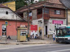 Bushaltestelle in Cluj-Napoca