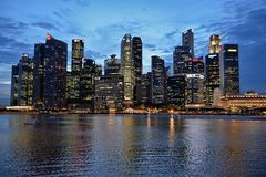 Business District Singapur