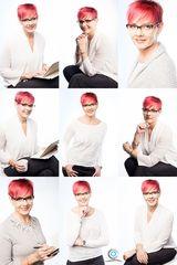 business portrait - collage