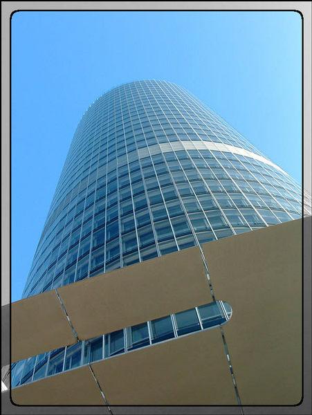 Bussines Tower in Nürnberg, 135 m, 34 Stockwerke