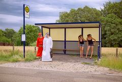 Busstation Internationality