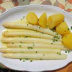 Butterspargel mit Kartoffeln