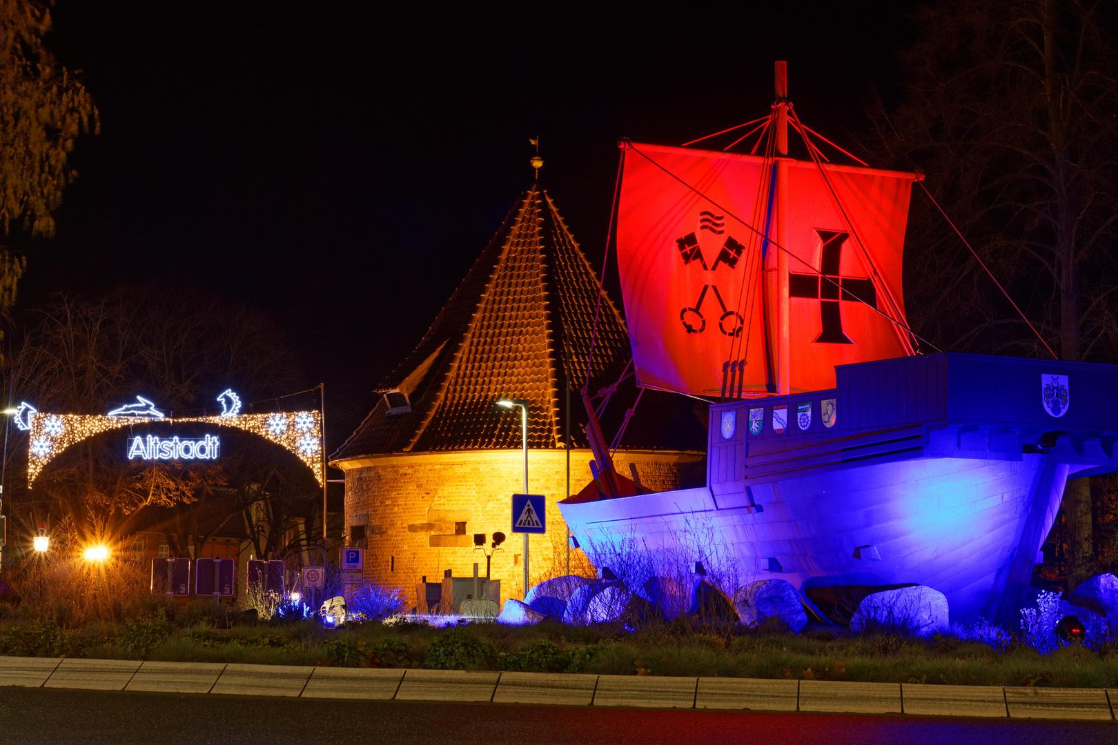 Buxtehude Altstadt Kogge