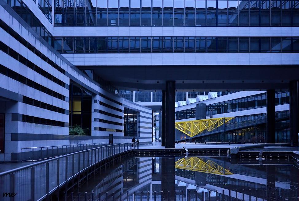 BW-Bank - Areal In Stuttgart Foto & Bild