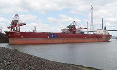 BW Fjord bei Hansaport