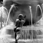 BW fountain