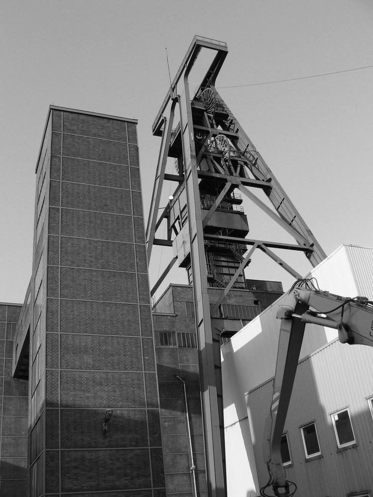 BW Lohberg nach der Stilllegung 2007