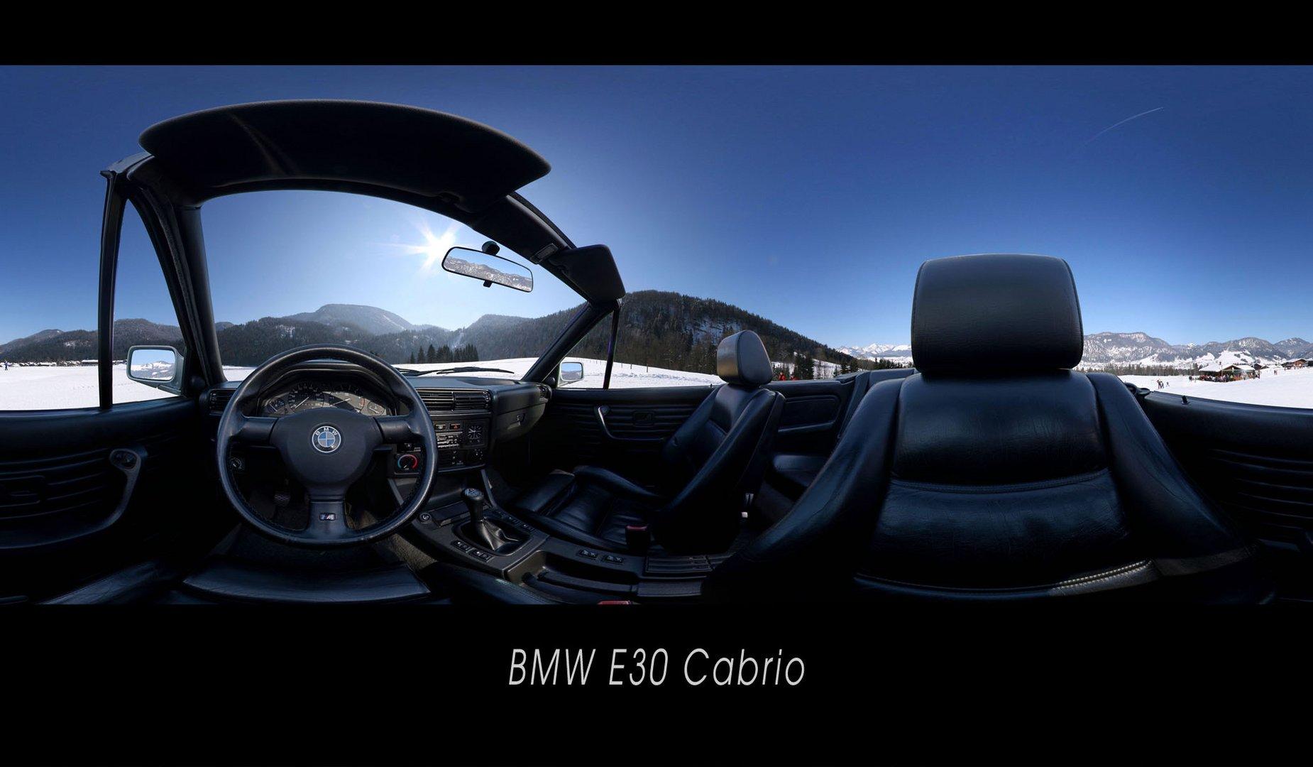 BWM E30 Cabrio