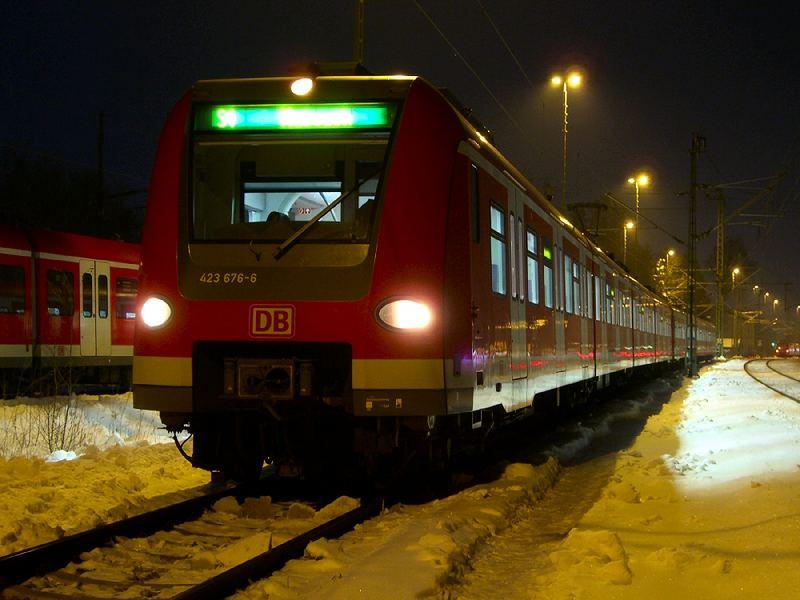 [BY] 423 176 in Grafing Bahnhof
