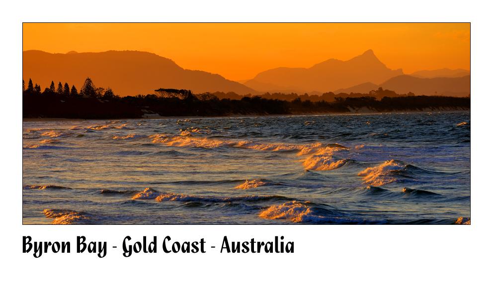 Byron Bay Sunset I