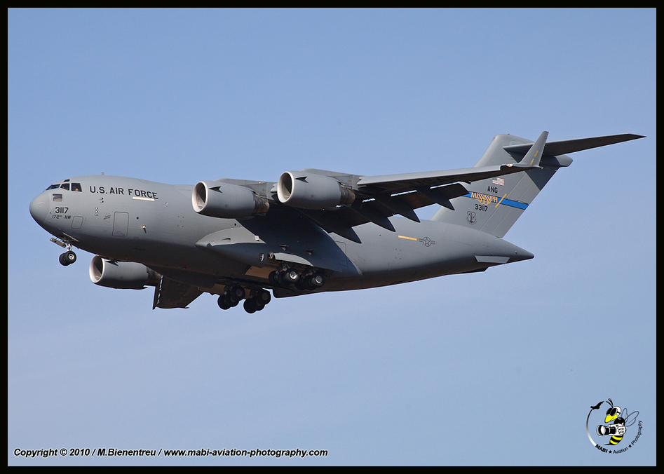 *** C-17A /172AW Missisippi ANG ***