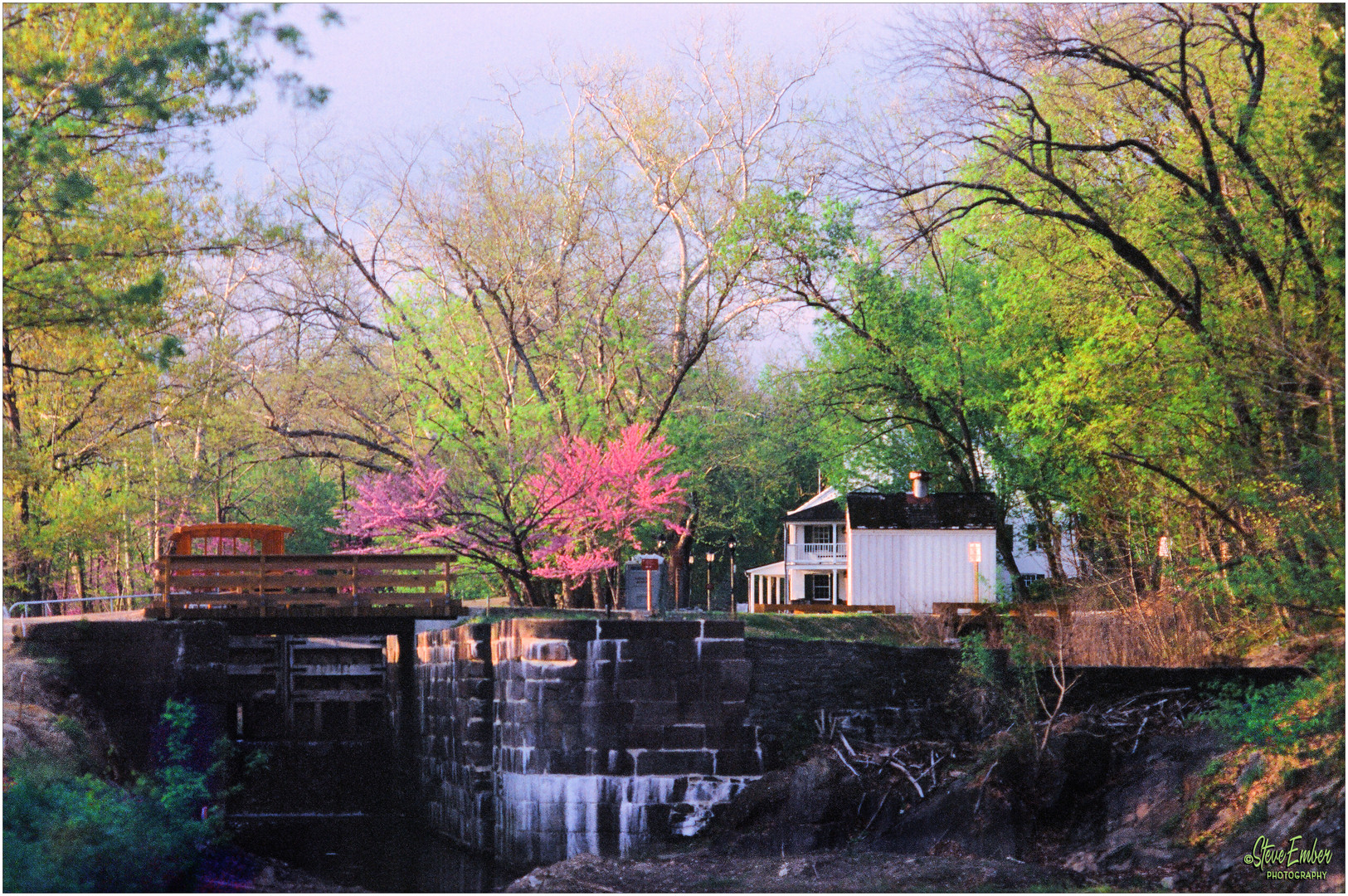 C & O Canal at Great Falls in Springtime