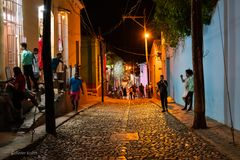 C U B A °°°°° Trinidad en la noche