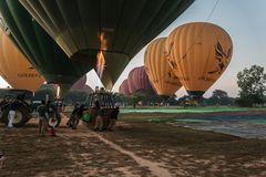 C1108_Myanmar - Bagan Balonfahrt
