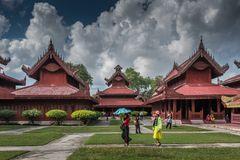 C1110_Myanmar_ - Mandalay Königspalast