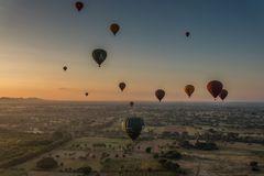 C1133_Myanmar - Bagan Balonfahrt