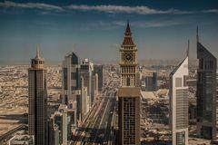 C1181_Dubai - Blick auf das Finanzviertel