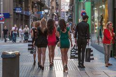 C1215 Spanien - Santander shopping 1