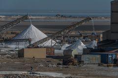 C1297 Namibia - Walvis Bay - Salzgewinnung