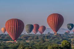C1403 Myanmar - Bagan Ballonfahrt