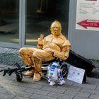 C3PO und klein R2D2