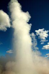 ca. 35 m Wasserfontäne