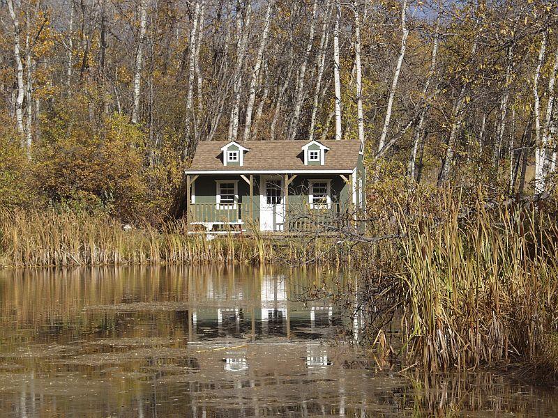 Cabin am Teich