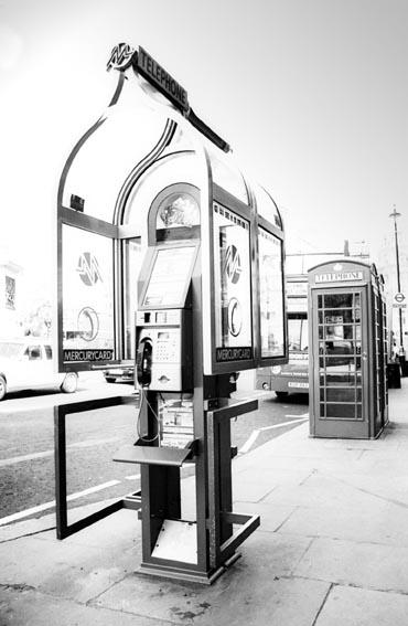 Cabinas de telefonos en Londres