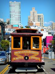 Cable Car in San Francisco 2