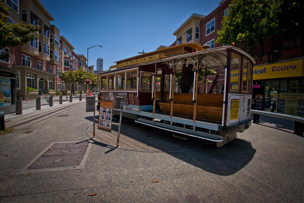 Cablecar in San Francisco
