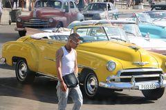 Cabrio in Havanna