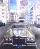 Cadillac ---Airbrush- Acryl- Mischtechnik