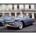Cadillac Fleetwood Convertible 1958 in front of Hotel Inglaterra - La Habana