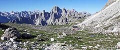 Cadinigruppe südlich der Drei Zinnen ein Traum für mich...