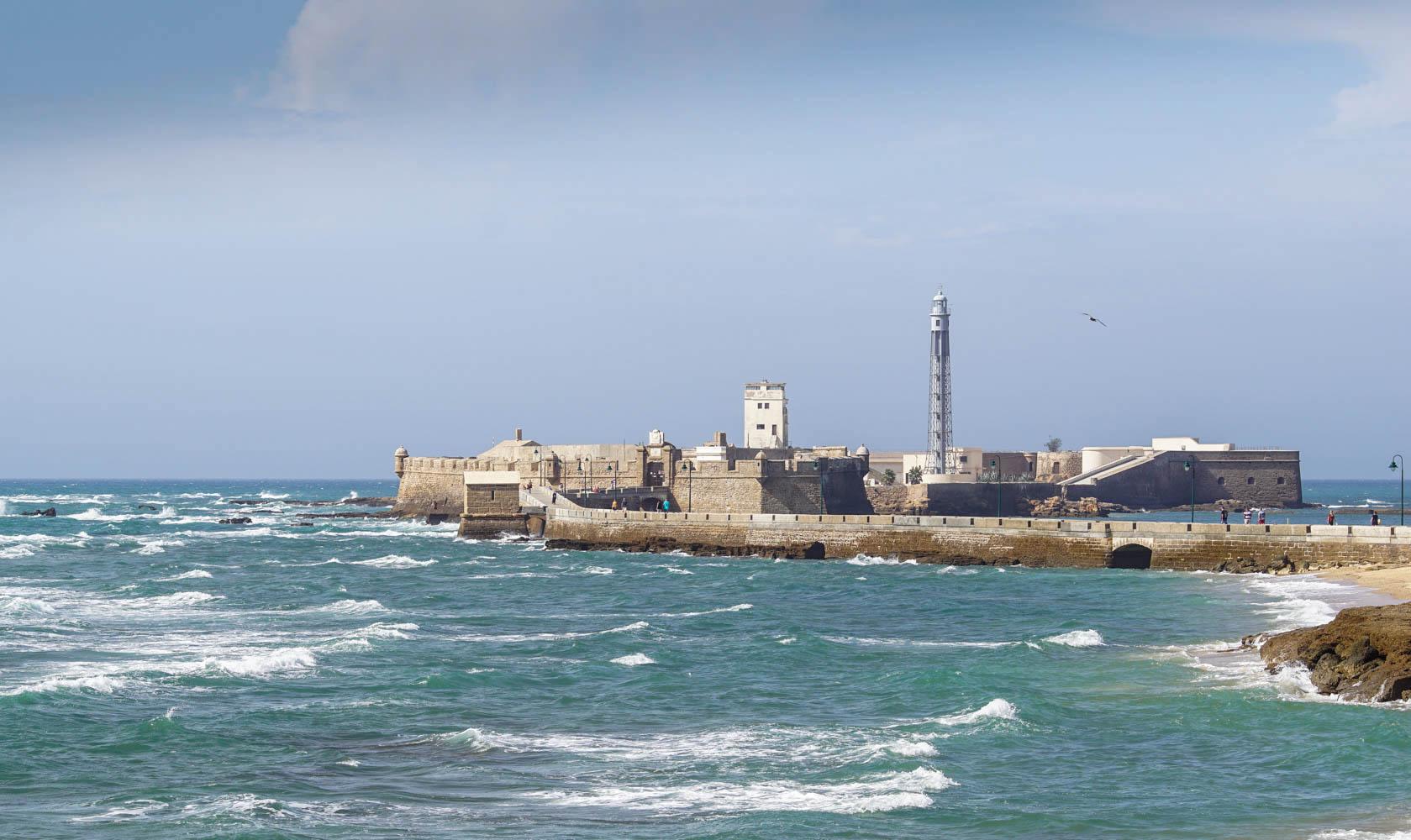 Cádiz Burg San Sebastian