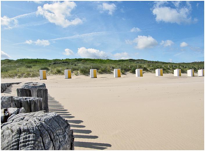 Cadzand #6 - Häuschen am Strand;-) Foto & Bild | landschaft ...