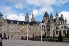 Caen - Kloster u. Klosterkirche Saint Etienne