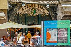 Cafe A Brasileira in Chiado