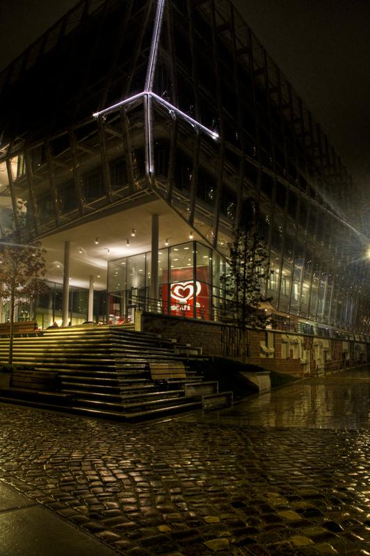 Cafe am Samstagabend