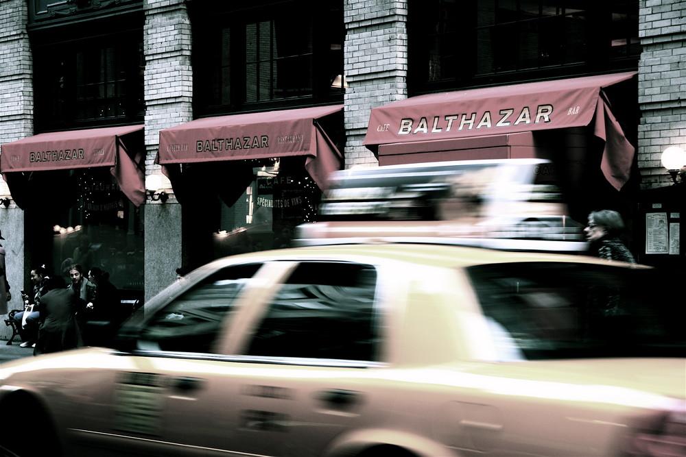 Cafe Balthazar, NYC