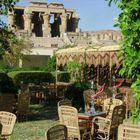 Cafe bei Kom Ombo,Ägypten