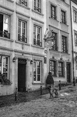 Café des artistes à Luxembourg-Grund