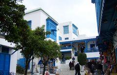 Café des délices, Sidi Bou Saïd (Tunisie)