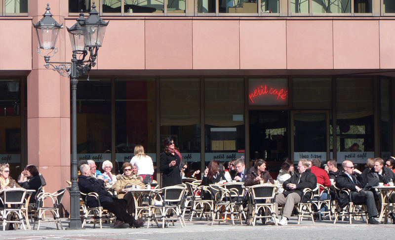 Cafe heute