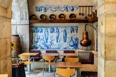 Cafe im Azulejomuseum